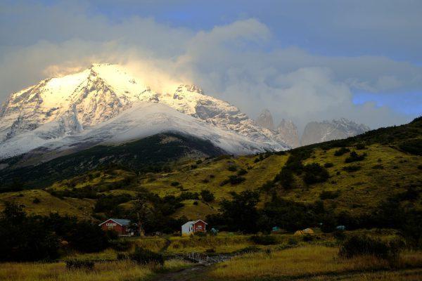 Inside National Park Torres del Paine