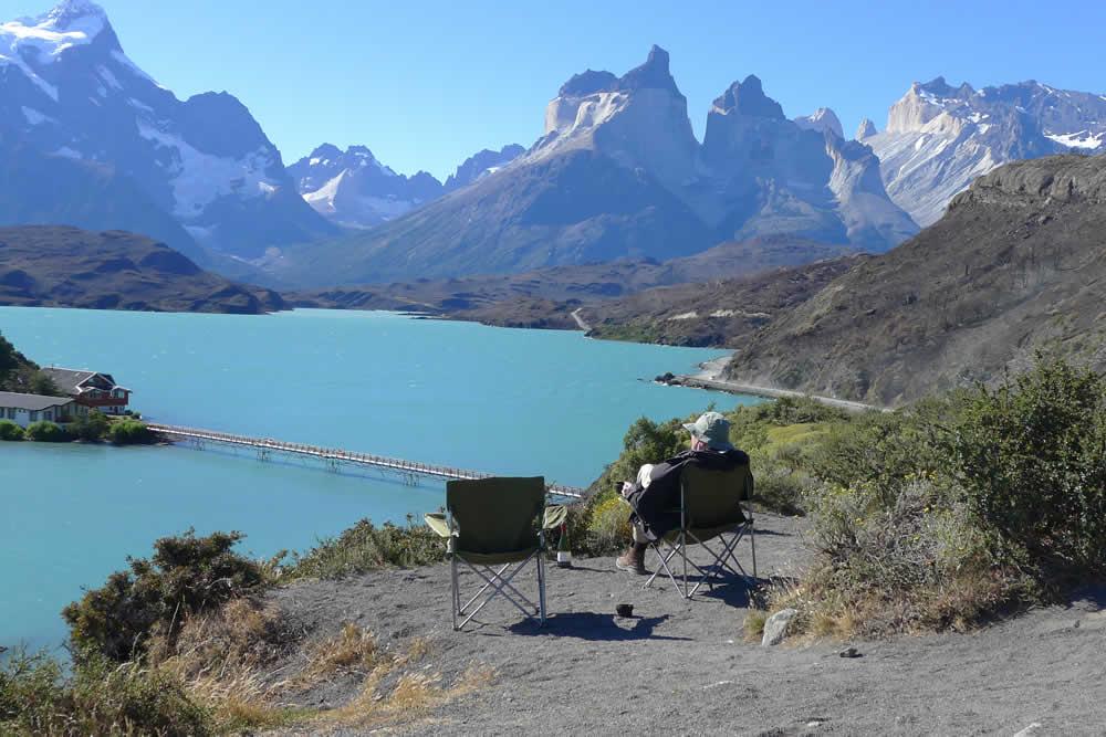 Enjoying Torres del Paine National PArk